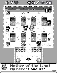 Some Info: Actual mockup, posible paralel project. 4 colors, 16x16 sprites, Zelda/FF/Pokemon refs #gamedev #indiedev