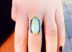 King's Manassa Turquoise Ring