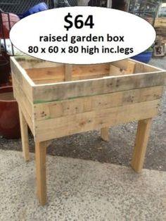 Waist high raised garden bed plans diy pinterest - Waist high raised garden bed plans ...