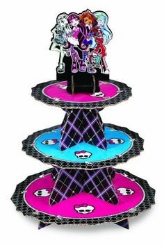 Monster High Treat Stand | 1 ct for $6.99 in Cake & Cupcake Stands - Cake/Cupcakes