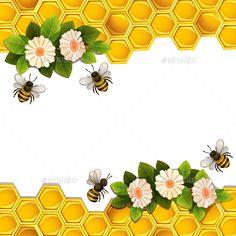 Bee Safe, Bee Pictures, Honey Label, Honey Packaging, Finger Crochet, Bee Creative, I Love Bees, Honeycombs, Bee Honeycomb