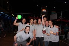 Theres no avoiding it: Intense dodgeball tourney is a hit at the GeekWire Bash