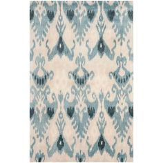 @Overstock - A transitional design and dense, thick pile highlight this handmade rug inspired by Ikat patterns with today's updated colors.http://www.overstock.com/Home-Garden/Handmade-Ikat-Silver-Blue-Wool-Rug-8-x-10/7153840/product.html?CID=214117 $580.99