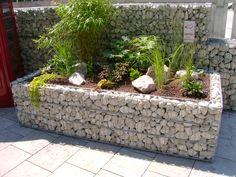 Gabionen Hochbeet - Steine im Garten Shop