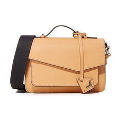 Cobble hill cross body bag by Botkier. A structured, saffiano leather Botkier cross body bag with polished hardware. Slim back pocket. The magnetic flap ope...