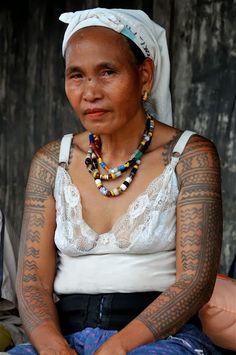 Tattoo - Philippines: Old school at it's best....  #tattoo