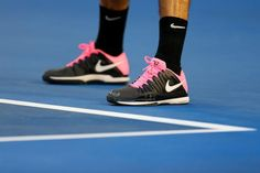 check out 675a8 ecae8 Federer s pink shoes (Nike Zoom Vapor 9 Tour for Australian Open 2013) Polo  Jackets
