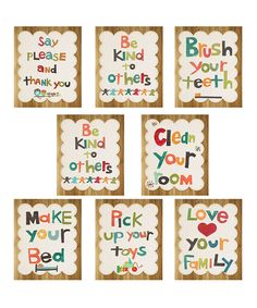 i would love to make a banner with these and hang in the girls' playroom ...