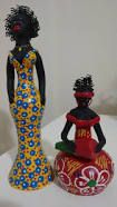 Image result for bonecas africanas