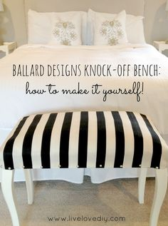 20 Fabulous Pottery Barn Knock-Offs that you are going to want to create! - The Cottage Market