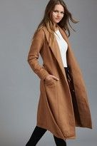 Dynamite Belted Maxi Wool Coat