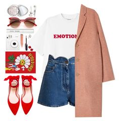 """""""#1134 Lucia"""" by blueberrylexie ❤ liked on Polyvore featuring Valentino, Acne Studios, Olympia Le-Tan, Stuart Weitzman, Bobbi Brown Cosmetics, Too Faced Cosmetics and Adia Kibur"""