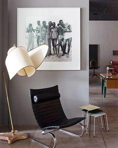 My usual destinations are Galerie Half, Obsolete, Blackman Cruz, Lucca Antiques, and Hallworth Design. Galerie Half in Los Angeles.   - ELLEDecor.com