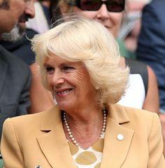 camillasgirl:  Duchess of Cornwall attended Day 3 of Wimbledon, June 25, 2014