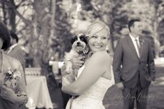 bride and dog!  Wedding & Portrait Photographer in San Luis Obispo :: Allyson Magda Photography - ... - coco + todd, charming pt 16, big sur wedding