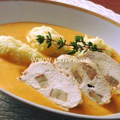 Brambory se dvěma druhy hub na kyselo – U Miládky v kuchyni Hub, Camembert Cheese, Dairy, Food, Essen, Meals, Yemek, Eten