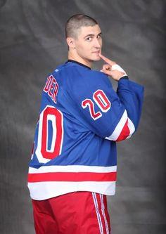 Chris Kreider of the New York Rangers I can't finish writing this caption