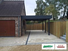 carport aluminium carport pinterest abri voiture carport bois et refuges. Black Bedroom Furniture Sets. Home Design Ideas