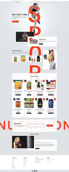 Nutrition Express  Responsive Shopify  Theme