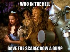 Don' fuck with scarecrow