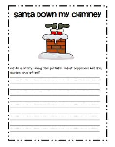 Christmas writing ideas 4th grade