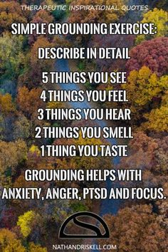 Grounding exercises that can help with stress and anxiety; specifically for panic and anxiety attacks. Zen Meditation, Meditation Videos, Meditation Benefits, Meditation Quotes, Anxiety Help, Stress And Anxiety, Anxiety Girl, Anxiety Relief, Stress Relief