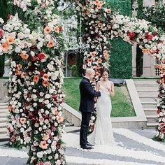 Pin for Later: These Spectacular Floral Wedding Arches Break the Mold Multiple Arches