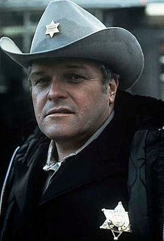 Picture: Brian Dennehy in 'First Blood.' Pic is in a photo gallery for Brian Dennehy featuring 6 pictures. Famous Men, Famous Faces, Brian Dennehy, Silvester Stallone, Westerns, First Blood, Cowboy Up, Cowboy Hats, Ted