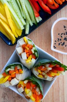 Top 10 Gluten-Free Recipes You Would Love to Have for Lunch – Simple Salad Rolls and Rice Paper Samosas Gluten Free Recipes For Lunch, Dinner Recipes For Kids, Lunch Recipes, Vegan Recipes, Smoothie Recipes, Soup Recipes, Breakfast Recipes, Dessert Recipes, Healthy Snacks