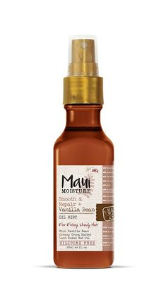 The Vanilla Bean Oil Hydrating Hair Mist features ingredients like cocoa butter and kukui oil to help tame frizzy hair and soften locks. Learn more here. Maui Hair Products, Curl Products, Maui Moisture, Kukui Oil, Frizzy Hair, Curly Hair, Hydrating Shampoo, Hair Mist, Hydrate Hair
