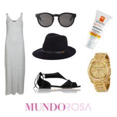 outfit maxi vestido ootd moda https://www.facebook.com/MundoRosaMx