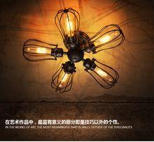 Loft éolien industriel lampe de mur millésime pays d'amérique 5 pamplemousse lampe WALL light(China (Mainland))