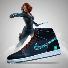Avengers: Endgame Air Jordans Designs - The Fanboy SEO Dr Shoes, Hype Shoes, Me Too Shoes, Marvel Shoes, Marvel Clothes, Sneakers Fashion, Fashion Shoes, Air Jordans, Marvel Fashion