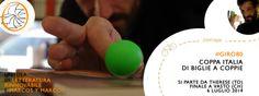 • COPPA ITALIA DI BIGLIE A COPPIE | Libreria Therese (TO) e Letteratura rinnovabile in #GIRO80 |||   Chi ha detto che le biglie sono roba da spiaggia? L'amore per i libri, la bici e divertimento hanno travolto anche gli scaffali della Libreria Therese di Torino, che diventa la prima tappa della nuova avventura di Letteratura Rinnovabile. Seguite il ciclotour degli amanti dei libri.  » la prima tappa | https://www.facebook.com/events/626763057418471/