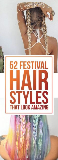 52 Festival Hairstyles That Look Amazing