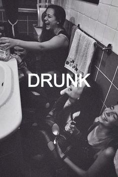I wish I had a girl-friend I can get drunk with