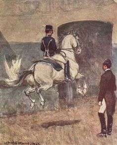 Regency Horse Terms A-G, via History of the 18th and 19th Centuries (Ballotade - Courtesy of Wikipedia - http://en.wikipedia.org/wiki/Airs_above_the_ground#mediaviewer/File:KochBallotade.jpeg)