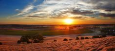 Sunrise at Pindarie Wines, Barossa Valley.
