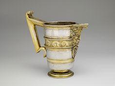 Jarro de Pico Possibly by Hernando Solis Date: late 16th century Culture: Spanish, Valladolid Medium: Silver, parcel-gilt