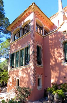 Casa - Museu Gaudí  Architect: Francesc d'Assís Berenguer i Mestres