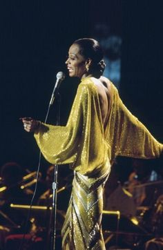 Chartreuse Sequins - Vintage Style Muse: Diana Ross - Photos