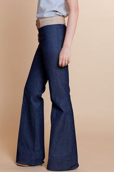 bellbottom wide-legs... Will always love this colour of blue on jeans pants and the bell bottom is a classic...