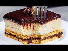 No Cook Desserts, Romania, Nutella, Tiramisu, Cheesecake, Cooking, Ethnic Recipes, Youtube, Cakes