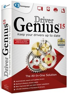 Driver Genius 15 Crack License Code incl Serial is the driver management utility program that automatically find as well as update drivers for your PC.