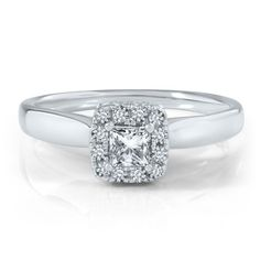 Smart Value® 1/2 ct. tw. Diamond Solitaire Engagement Ring in 14K Gold