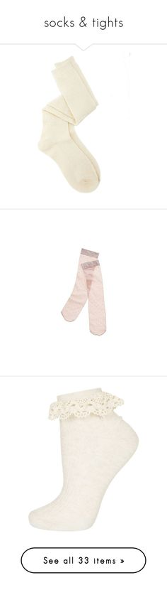 """""""socks & tights"""" by chocolatemilky ❤ liked on Polyvore featuring intimates, hosiery, socks, accessories, socks and tights, fillers, charlotte russe, aztec socks, above the knee socks and over-the-knee socks"""