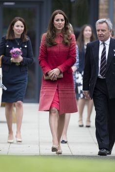 The Duke and Duchess of Cambridge (known in Scotland as The Earl and Countess of Strathearn) visit Strathearn Community Campus, incorporating Crieff High School.