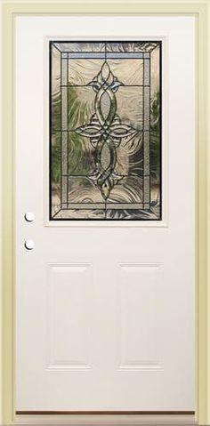 Mastercraft® P-8 Steel Low-E Full-Lite Prehung Exterior Door at ...