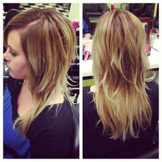 Ombred highlights  Photo by haley_alluringartistry