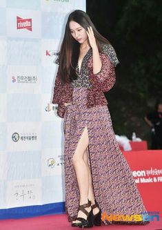 08.08.19 Krystal Jung, Jessica Jung, Korean Artist, Role Models, Superstar, Wrap Dress, Actresses, Outfits, Baby Girls